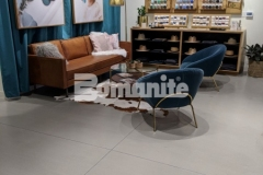 Bomanite Modena SL was chosen for the Nickel & Suede flagship store to create a polishable concrete overlay and this distinctly beautiful surface will offer resistance to stains while enhancing the aesthetic appeal throughout this retail space.