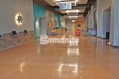 Bomanite Patene Teres was skillfully installed here by our associate, Texas Bomanite, to create a flooring surface that is extremely durable with distinctive design detail that adds beautiful depth and warmth to this space.