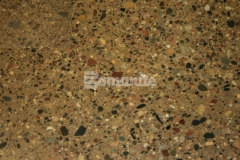 Bomanite Licensees, Concrete Arts and Bulach Custom Rock worked together to transform the flooring surface at Mazopiya Natural Food Store in Mystic Lake, MN by using the Bomanite Patene Teres Custom Polishing System and incorporating a specialty mix design that allowed for a uniform finish with the beautiful blend of large aggregate rocks.