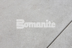 Bomanite Sandscape Refined is an architectural exposed concrete with very fine exposure depth, resulting in a finished product that showcases the fine aggregate, and as shown here this product is ideal to create a consistent and sophisticated design.