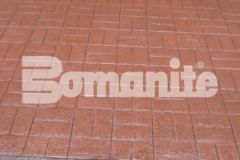 Connecticut Bomanite Systems earned the Bomanite Imprint Systems Bronze Award in 2018 for their expert installation of 31,450 square feet of Bomanite Basketweave Brick imprinted concrete and added a beautiful hardscape surface that it sophisticated and eye-catching.